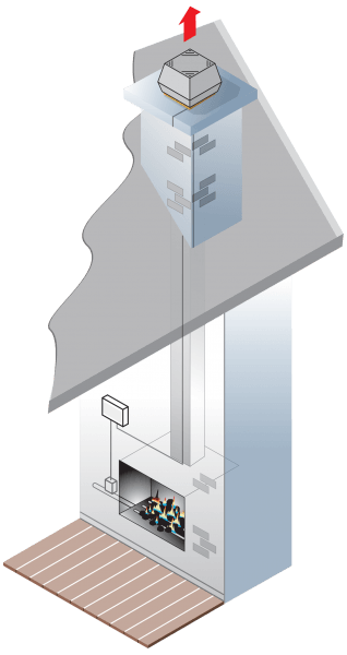 chimney-fan_gas-fireplace_illustration